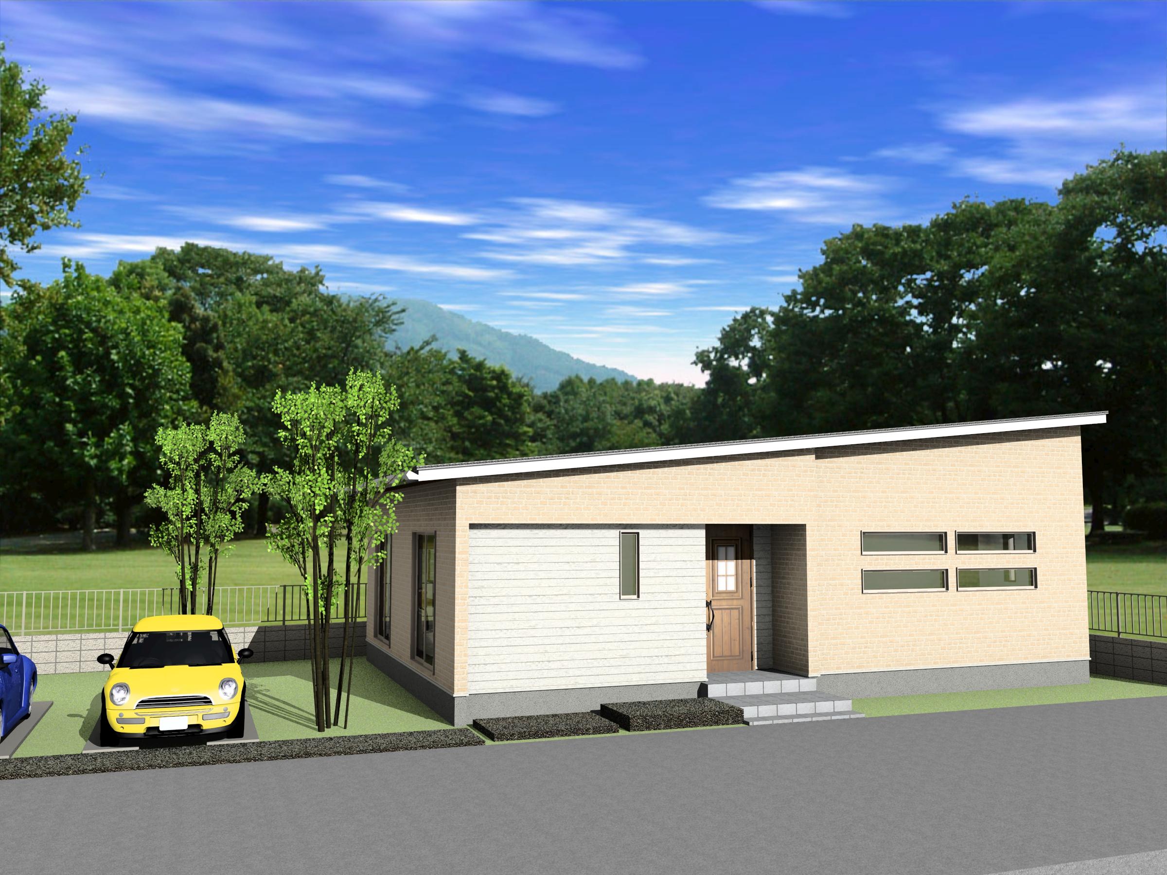 大内氷上平屋建売(2021年11月完成予定)の画像